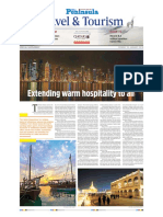 Qatar Tourism Supplement 2016