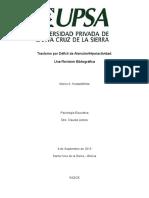 TDAH Revisión Bibliográfica (Marco Nostas)