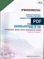 Prosiding Semirata Banjarmasin 2011 Kitosan Pengawet Ikan