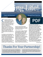 Living Life Newsletter Winter 2016