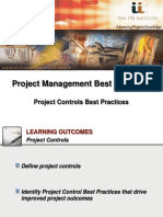 IPA Institute-Project Controls Best Practices-Webinar