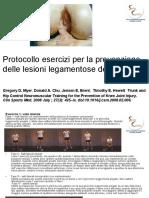 Protocollo Prevenzione LCA
