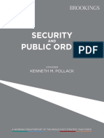 Security and Public Order Report