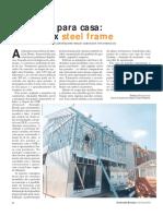 ORÇAMENTO REAL - Estrutura Para Casa Concreto x Steel Frame