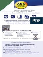 Accessibilite_2013 Passages Piétons
