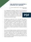 II Borrador del anteproyecto de Reformas Al Codigo Procesal Civil y Mercantil