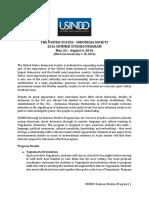USINDO Summer Studies Program Information 2016 24Feb 1