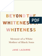 Beyond the Whiteness of Whiteness by Jane Lazarre