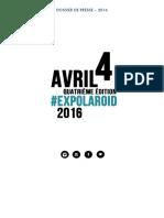 Expolaroid 2016 - Dossier de Presse