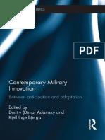 Comtemporary Military Innovation