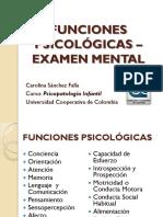 FUNCIONES PSICOLÓGICAS 2