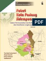 Seri Studi Kualitatif IPKM; Potret Kota Padang Sidempuan dalam Permasalahan Gizi Balita dan Kesehatan Lingkungan