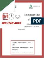 Rapport de Stage  Star Auto