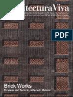 Arquitectura viva 158 (Ladrillo)