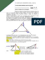 Guia de Rectas y Puntos Notables en Un Triangulo
