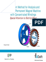 An Efficient Method for Analysis and Design of Permanent Magnet Machines - Presentation_Hung Vu_IEEE-YRS_ 17April2012