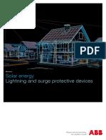 Solar Energy_Lightning and Overvoltage Protection_1TXH 000 118 B0202