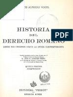 Historia Del Derecho Romano Vogel II