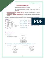 Ecuaciones Diferenciales - Resumen
