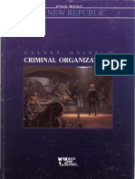 Star Wars - d6 - The New Republic - Galaxy Guide 11 - Criminal Organizations