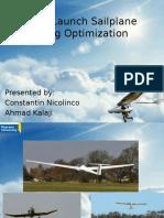 Sailplane Wing Optimization