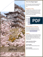 Japan Pre Travel Guide