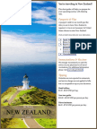 New Zealand Pre Travel Guide