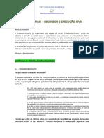 APOSTILA - Temas de Execucao e Recursos - PGE-PGM