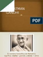 Mahatman Gandhi (1)