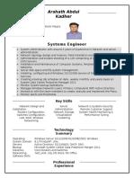 Network Server Engineer_Arshath_Dubai Resume  (1) (1) (1) (1).docx