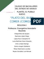 Plato Del Buen Comer :3