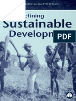 19861335 Redefining Sustainable Development