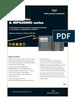 SAFT Mp60 Series Mps2000c Series