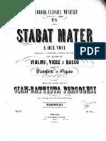 Stabat Mater Pergolessi