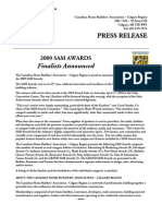 09 SAM Winners Press Release
