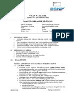 Soal UKK RPL Paket 1
