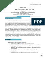 Kertas Kerja Kursus Membina Laman Web 2009