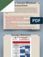 ga milestone parent information