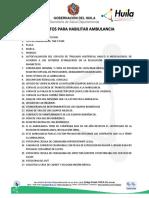 REQUISITOS_AMBULANCIAS