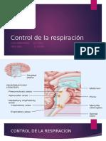 Diapositivas Control Respiratorio
