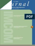 Journal of Installation Management