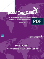 Ipsos Top Cities September 2013