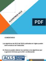 Presentación Algoritmos ACLS
