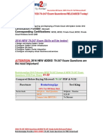 [2016 Feb-NEW]Braindump2go Latest 70-247 PDF 41-50