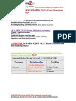 [2016 Feb-NEW-RELEASED]Braindump2go Latest 70-331 PDF 31-40