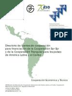 157 at Di 7- Directorio de Fuentes de Cooperacion Financiamiento Coopercaion Sur-Sur