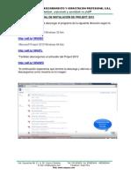 Manual de Instalación de Project 2013