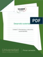 Unidad2.Dimensionesyretosdelasustentabilidad
