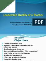 Leadership Qquality of Teachers01