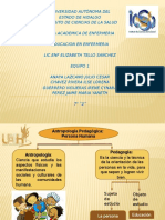 Antropologia Pedagogica Equipo 1